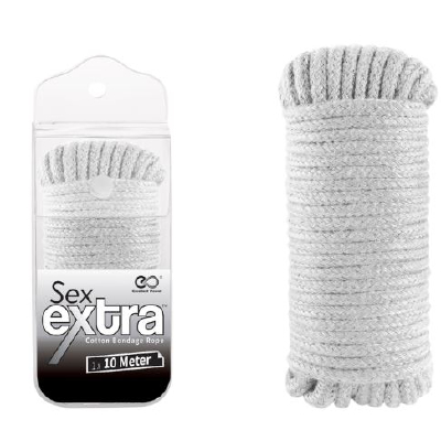 Sex Extra 10 m Cotton Rope White