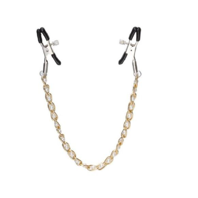 High Beam Nipple Clamps & Chain White