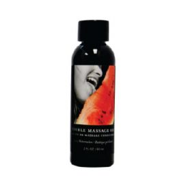 Massage Oil Edible - Watermelon 237ml