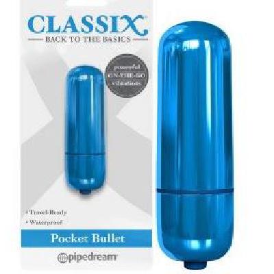 Classix Pocket Bullet Short Blue