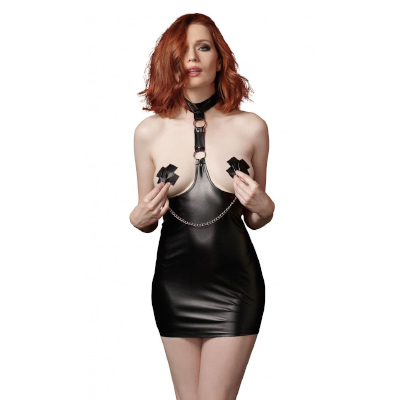 11054 Chemise & Nipple Clamps