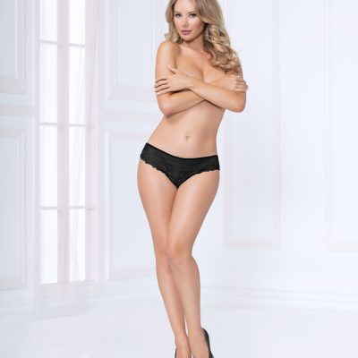 10990 Lace Thong Black S