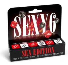 Sexy 6 Sex Edition Dice game