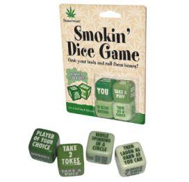Stoneware Smoking Dice Game