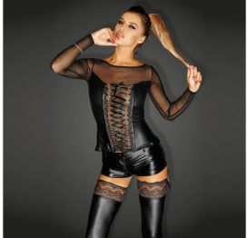 f130-xl Cosage with Lacing and Tulle XL