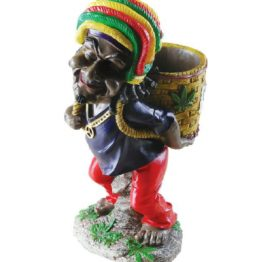 Rasta Man Bowl Back