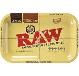 Raw Metal Rolling Tray XL 35cm x 28cm