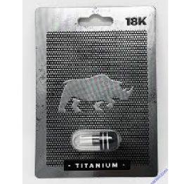18K Rhrino Titanium Stay Hard