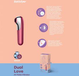 Satisfyer Dual Love App Control Pink