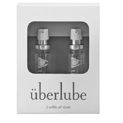 Uberlube Refill Bottles 2 x 15ml