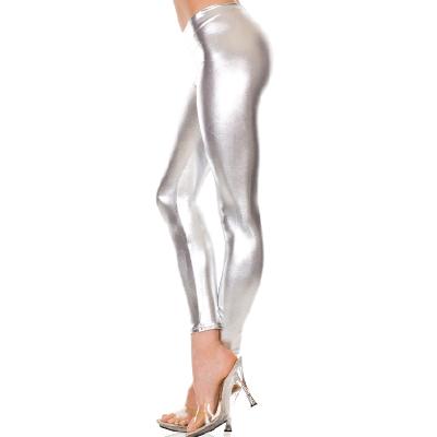 Metalic Leggings Silver OS