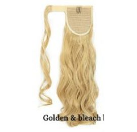 "Hair Extention 17"" Wavy Gold Blonde"