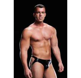 Envy Wet Look Open Back Jock M/L