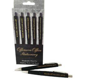 Offensive Office Pens 5pk