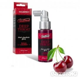 Good Head Deep Throat Spray Wild Cherry