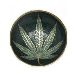 Brass Leaf Bowl 2352